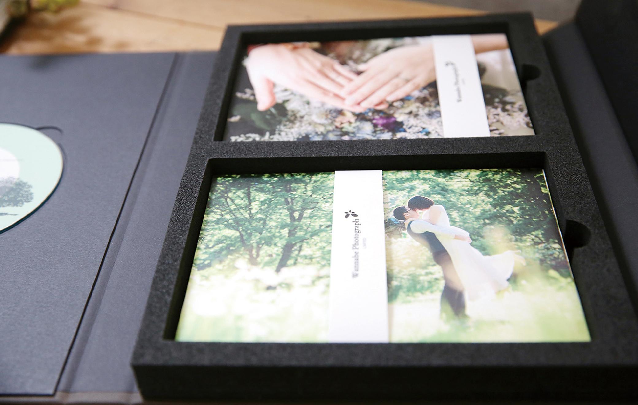 大切な写真をポストカードとして保管できます。