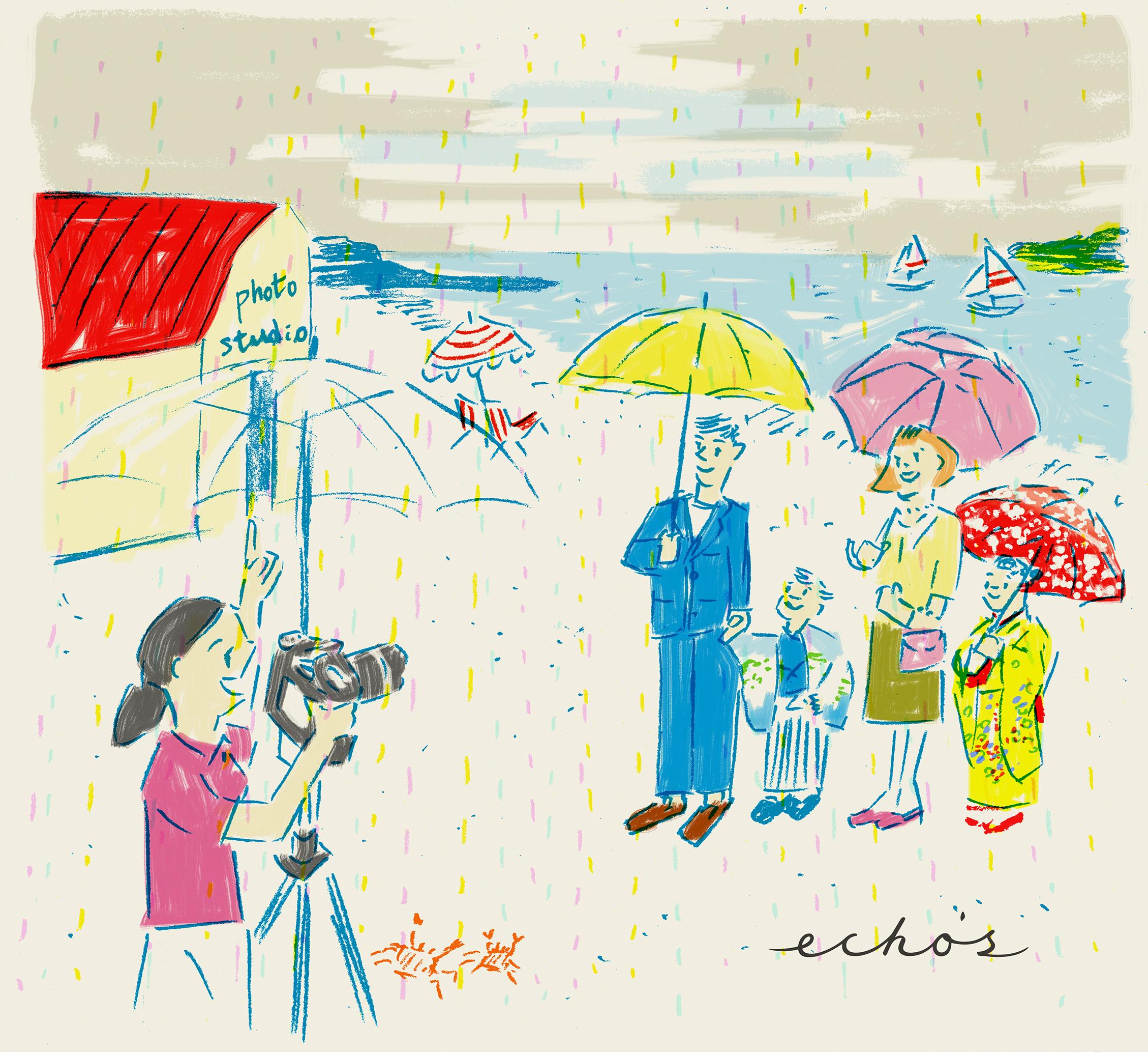 梅雨だし、雨だし、コロナだし、